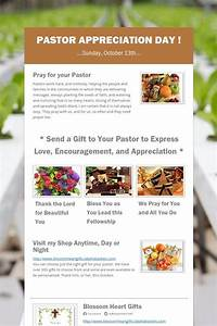 Pastor Appreciation Day ! | Pastor Appreciation Ideas ...