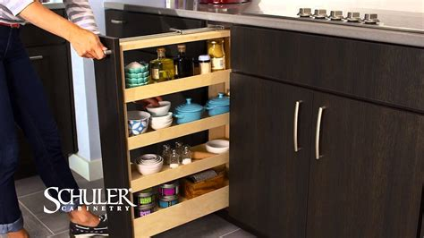 Pull Out Spice Rack by Schuler Cabinetry Pull Out Spice Rack