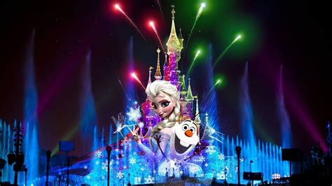 Disneyland Light Show by Disneyland Light Show I салют диснейленд в париже