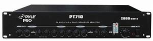 Pylehome - Pt710 - Home And Office - Amplifiers - Receivers - Sound And Recording