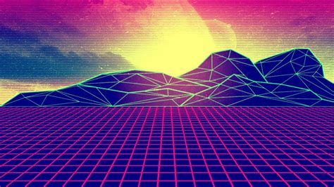 Aesthetic Digital Phone Wallpaper by Free Synthwave Wallpape Wtg3107748 Yese69