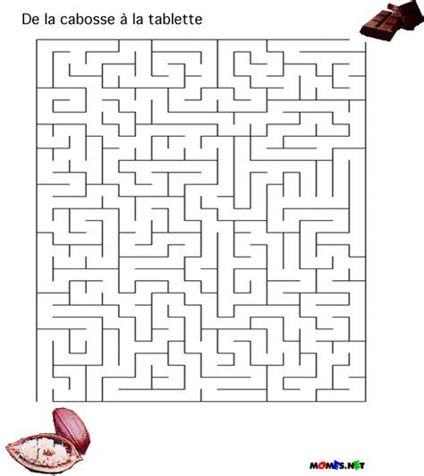 jeux de cuisine de chocolat le labyrinthe du chocolat momes