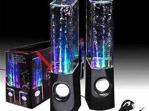 Water, Dancing, Speakers, Refill