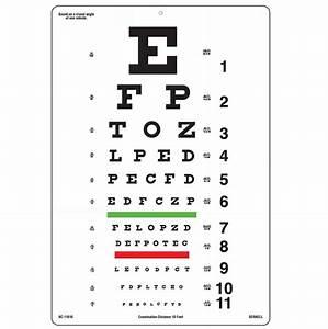 10ft Snellen E Test Chart Ophthalmic Singapore