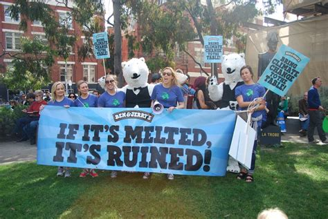 Ben & Jerry's Activation: March for Climate Change in ...