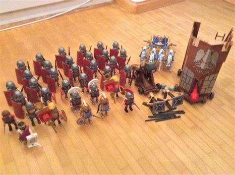 Playmobil Römer (set Mit 34 Figuren, Belagerungsturm