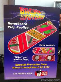alien cyborgs back to the future hoverboards finally