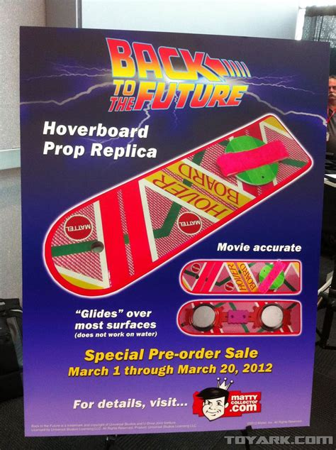 Mattel Hoverboard Skateboard Deck by Cyborgs Back To The Future Hoverboards Finally