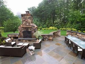 Patio design pictures and ideas for Attractive patio stone fireplace designs