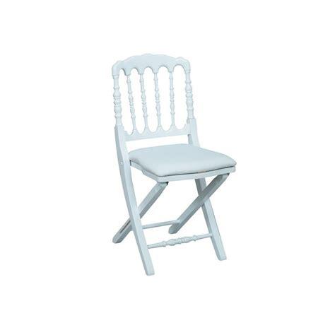 chaise napoleon blanche déco privé location chaise napoleon pliante blanche