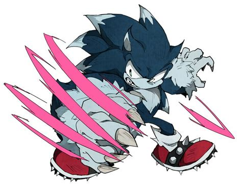 16 Best Sonic The Werehog Images On Pinterest