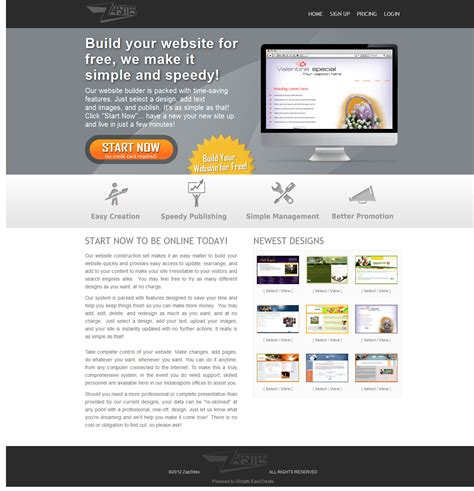 software for web site builder script open source php website design software