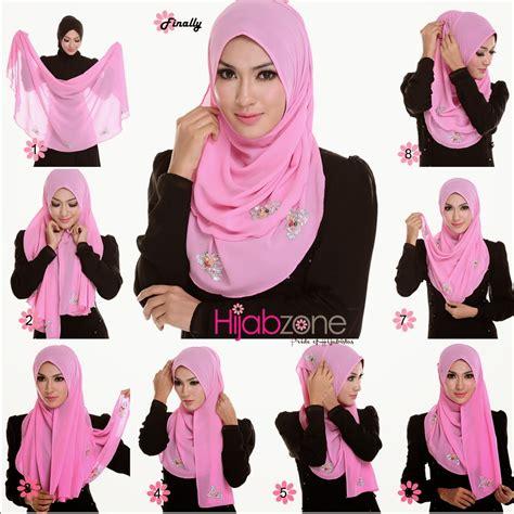 tutorial hijab segi empat wisuda terbaru  abocadosalfracaso
