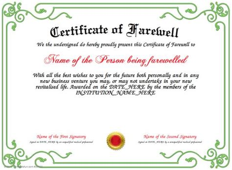 pin  certificate fun  awards certificate templates