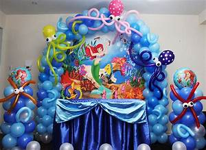 Ariel Little Mermaid Theme Party - Cyprus Bar Catering