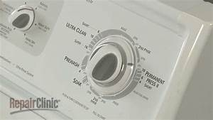 Kenmore Top Load Washer Timer Dial Replacement  Wp3949428