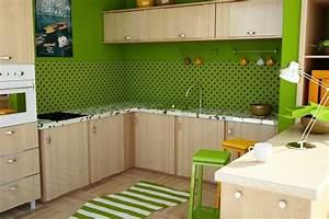 Farbgestaltung Küche Wand : 100 ideen f r wandgestaltung in gr n ~ Sanjose-hotels-ca.com Haus und Dekorationen