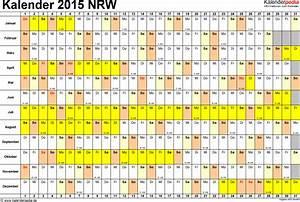 Schulferien 2016 Nrw : kalender 2015 nrw ferien feiertage word vorlagen ~ Yasmunasinghe.com Haus und Dekorationen