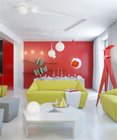 Colorful Interior Design by Colorful Apartment Interior Design And Ideas