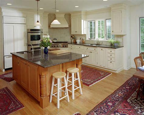 kitchen blends modern elements    built