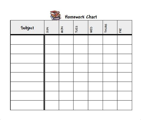 homework template 12 homework schedule templates free word excel pdf format free premium templates