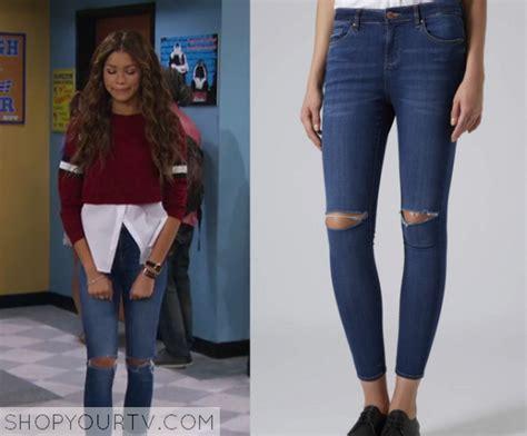 Season 1 Episode 3 K.c.'s Knee Rip Jeans