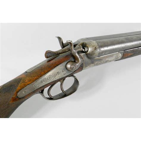 German Exposed Hammer Sxs Shotgun