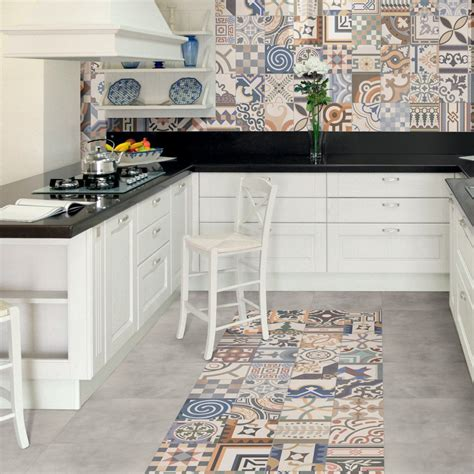 examples  unusual kitchen floor tiles baked tiles