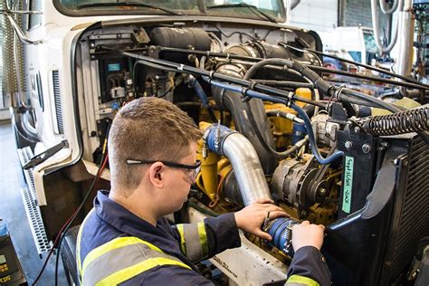 Diesel Engine Mechanic: School of Trades and Technology: Thompson Rivers University