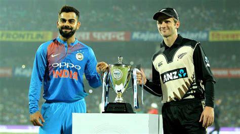 New Zealand vs India Match Today