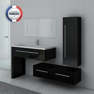 ensemble de meuble de salle de bain 1 vasque dis9251n With meuble salle de bain simple