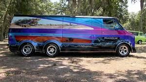 U0026quot Deathstar U0026quot  1977 Custom Dodge Van