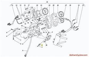 Ducati Air Pressure Temperature Sensor  996r  998 Superbike