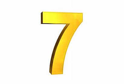 3d Numbers Number Number7 Letter Letters Fonts