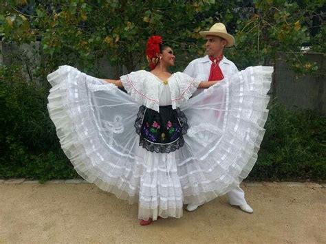 Veracruz Folklorico Couple Trajes regionales de mexico