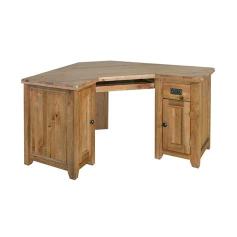 oak bureau desk tuscany solid oak furniture office corner computer pc desk