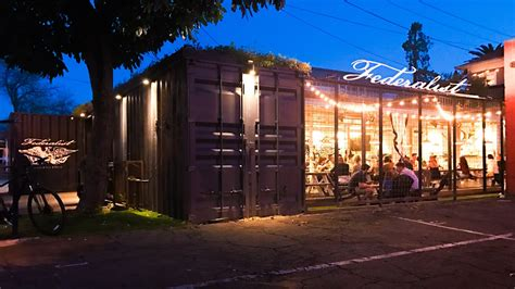 incredible restaurants built   shipping containers