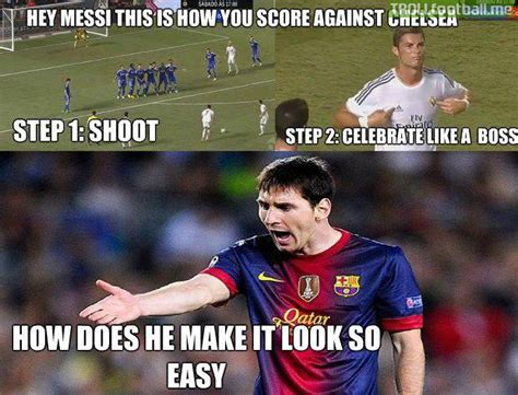 Us Soccer Meme - ronaldo makes scoring against cech look easy troll football