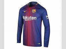 Maillot Manches Longues FC Barcelone Domicile 201718