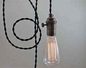 Plug in swag pendant fixtures light fixture