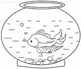Goldfish Coloring Pages Printable Fish Printables Colouring Bowl Sheets Memoirs Cool2bkids Library Books Getcoloringpages Party Crafts sketch template