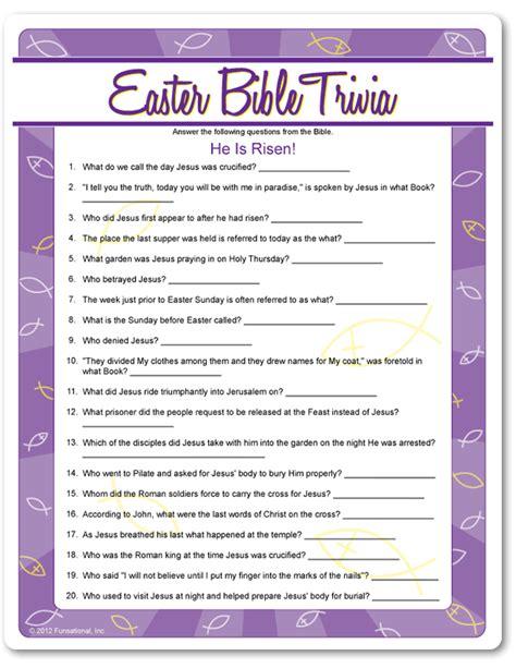 easter trivia resurrection eggs easter scavenger hunt trivia easter and bible