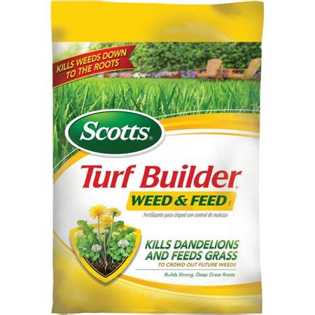 Scotts Turf Builder Weed And Feed, 15,000 Sq Ft Walmartcom