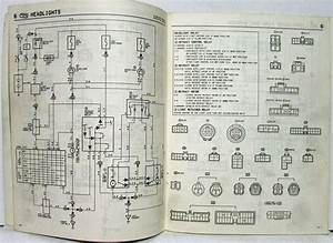 1986 Toyota Celica Supra Electrical Wiring Diagram Manual