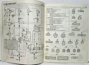 1986 Toyota Celica Supra Electrical Wiring Diagram Manual Us  U0026 Canada