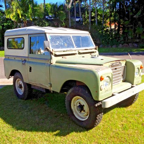 original land rover completely original 1973 land rover series 3 swb offroad