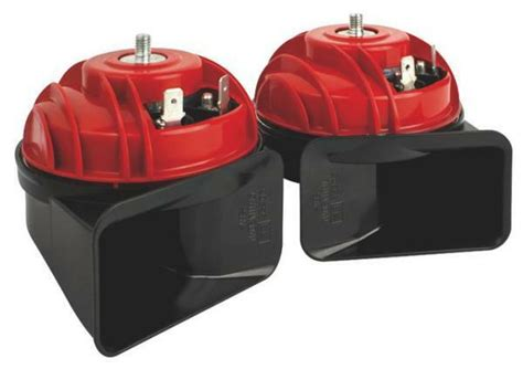 Fiamm Am80s Luxe Dual Horn Set 12v High & Low Note Snail