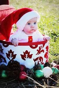 Christmas baby photo ideas on Pinterest