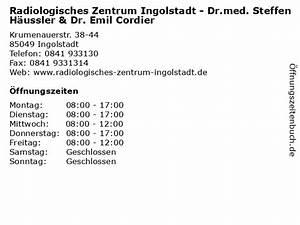 Antik Zentrum Essen : ffnungszeiten radiologisches zentrum ingolstadt dr ~ A.2002-acura-tl-radio.info Haus und Dekorationen