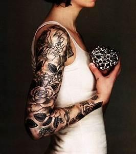Tatouage Bras Complet Homme : photo tatouage bras entier ~ Dallasstarsshop.com Idées de Décoration